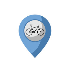 bike point vector image