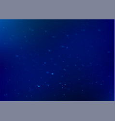 blue abstract background glitter particles vector image