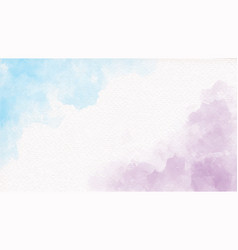 Blue and violet rainbow pastel unicorn girly vector