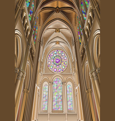 Chartres cathedral 14apr2017 vector