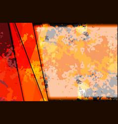 colorful shape background grunge vector image