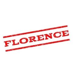 Florence Watermark Stamp vector