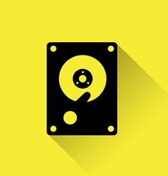 Hard Drive Disk icon vector image