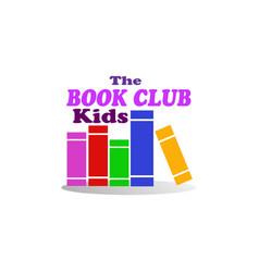 kids book club vector image