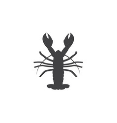 lobster graphic design template isolated vector image