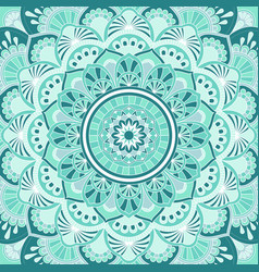mandala decorative and pattern design vector image