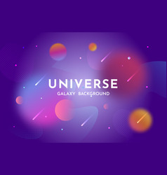 Outer space background universe abstract backdrop vector