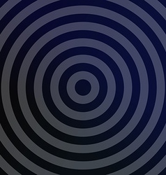 Silver metallic background with concentric circles vector