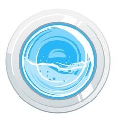 Washing Machine Door vector