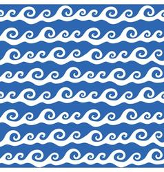 ocean waves vector image