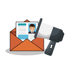 recruitment human resources icon vector image vector image