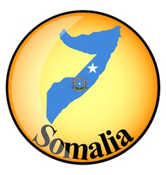 Button Somalia vector