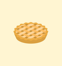 Crust pie vector