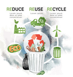 Global warming and pollution save world vector