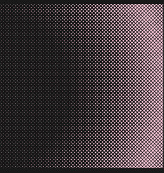 Halftone diagonal square pattern background vector