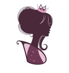 Portrait of a Princess vector image