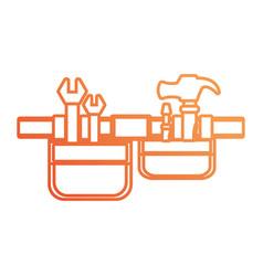 tool belt vector image