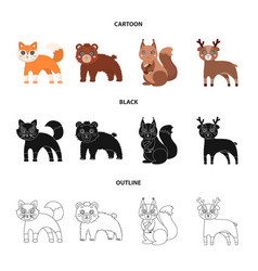 Zoo nature reserve and other web icon in cartoon vector