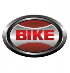 bike element logo vector image vector image