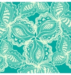 Abstract floral element for decorative design vector image