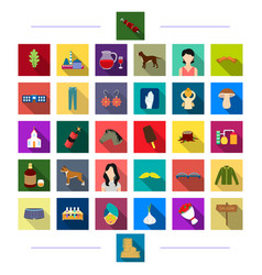 Business cosmetics knitwear and other web icon vector