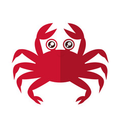 Crab icon image vector