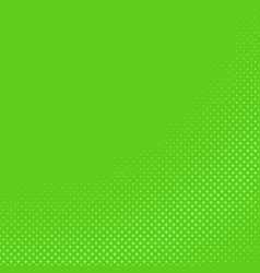 green halftone diagonal square pattern background vector image
