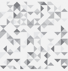 grey abstract geometric background vector image