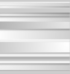 Grey abstract stripes modern corporate background vector