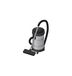 isolated vacuum cleaner isometric vac vector image