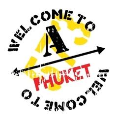 Phuket stamp rubber grunge vector