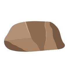Rock stone icon vector image