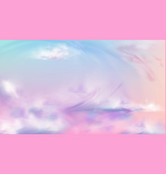 Sky or heaven nature background sunset or sunrise vector