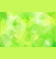 Abstract background in lime green tones vector