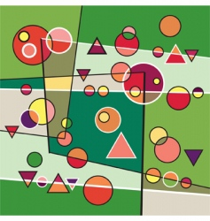 abstraction background vector image vector image