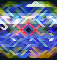 seamless mosaic pattern bright abstract vector image