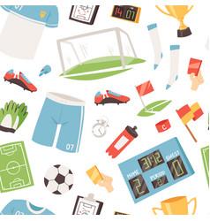 Soccer footballer or soccerplayer in vector