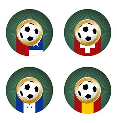2010 World Cup South Africa Group H vector image