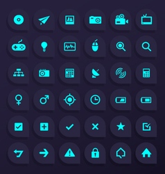 36 Hi Quality GENERAL Any Use Icons - Part 2 vector