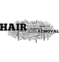 at home hair removal techniques to use part two vector image vector image