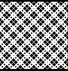 black and white geometrical square pattern vector image