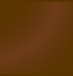 brown retro halftone diagonal square pattern vector image