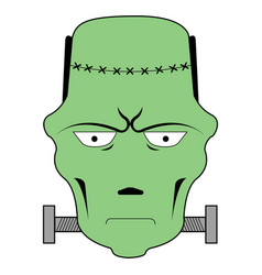 isolated frankenstein avatar vector image