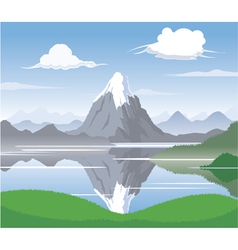 Mountain Scape vector image