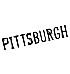 Pittsburgh stamp rubber grunge vector