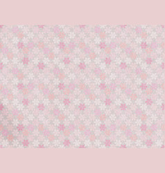 spring delicate floral template in fashionable vector image
