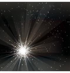 A black color design with a burst vector image
