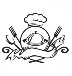chef arms vector image vector image
