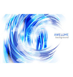 abstract blue backgrounds vector image vector image