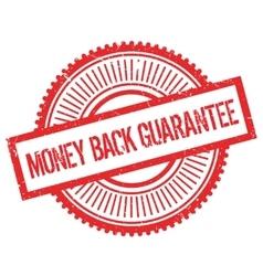 Money back guarantee stamp vector